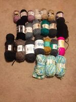 20+ balls of yarn for sale!