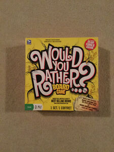 """Would You Rather"" board game"