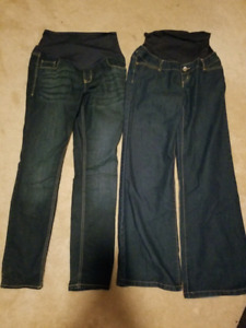 Maternity Jean's size 10 old baby and thyme