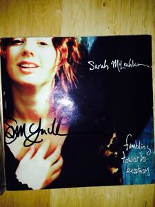 Autographed Sarah McLaughlin CD