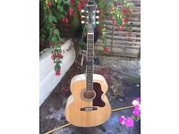 Epiphone Acoustic Guitar w/ Hard Case & Fishman Pickup