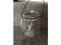 Wedding decorations, tealight holders, candles - various