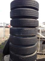New/used tractor trailer tires for sale