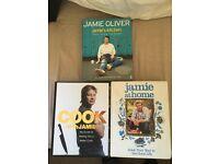 Job lot of 12 cook books Jamie Oliver etc