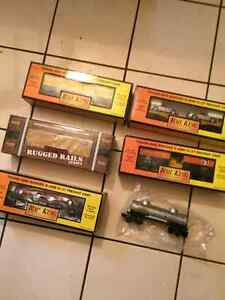 WAGONS TRAINS ELECTRIQUE ECHELLE O RAIL KING,LIONNEL