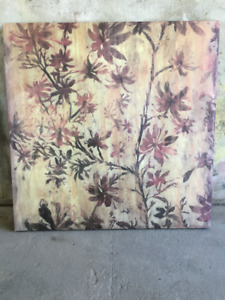 Beautiful wall art - brown/orange/autumn tones