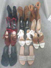 Bundle womens size 4 shoes