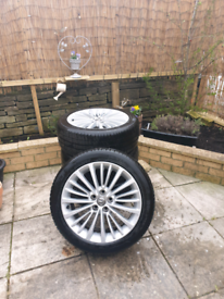 Vauxhall astra K Diesel Alloy wheel Set Excellent Tread.