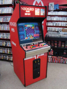 Looking for Neo Geo stand up
