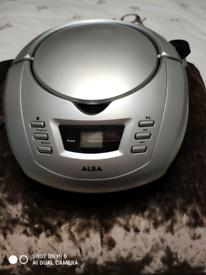 Alba portable CD player