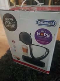 Brand new in box Necsafe Dolce Gusto coffee machine.