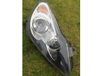 Corsa d headlight