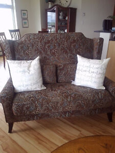 Pier 1 Imports Wing back settee for sale