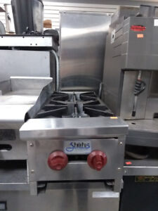 Commercial Food Equipment Sale - Two Burner Gas Stove