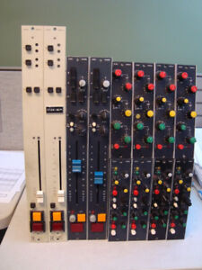 Ward Beck Systems Preamps, Compressors, EQs