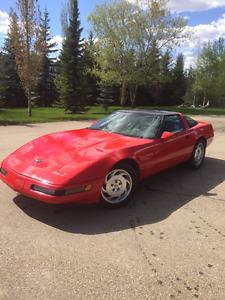 1994 Red Corvette LT1 6spd