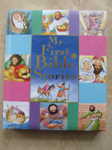 Bible stories, MY FIRST BIBLE STORIES, for kids, hardcover book
