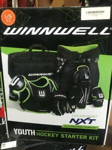 480067297ee Winnwell Hockey Starter Kit - BRAND NEW - Size Large or Medium