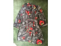Boys Angry Birds dressing gown