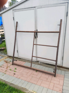 Industrial scaffolding - from $25.