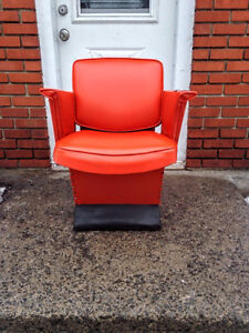 Fauteuil Unique RETRO 50s Chair ORANGE!