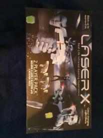 Laser X game.
