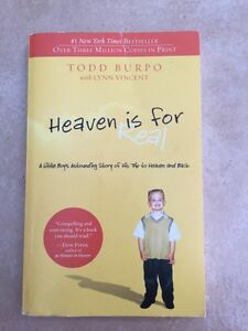 Heaven is for Real by Todd Burpo-religion, inspirational