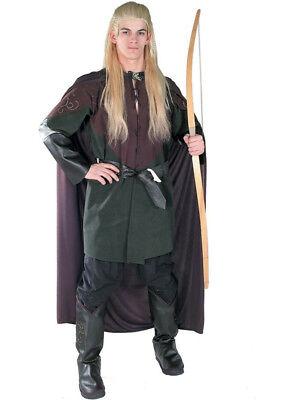 Adult Licensed Lord Of The Rings Legolas Greenleaf Mens Fancy Dress Costume New  (Greenleaf Costumes)