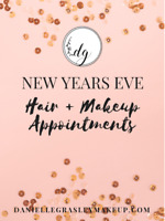 New Years Eve Hair + Makeup