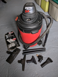 Wet and dry shop-vac