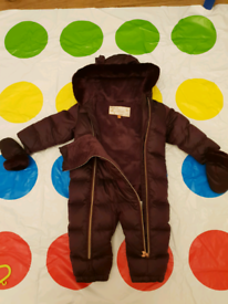 Baby Girls Snowsuit from Baker by Ted Baker