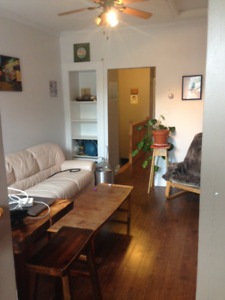 Sublet room in nice north end apartment for the month of aug!