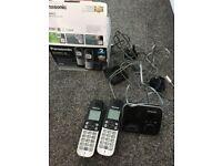 Panasonic answering machine phones used working