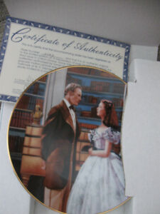 Vintage Gone With The Wind Collectible Plates Prince George British Columbia image 5
