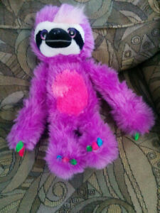 Sweet and sassy sloth stuffy good shape $10 firm