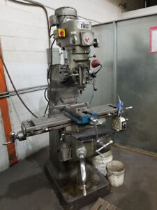 FIRST VERTICAL TURRET MILLING MACHINE