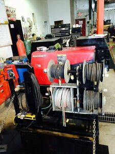 Welding skid for sale - Lincoln 305G