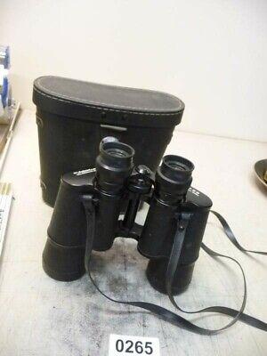 0265. Altes Fernglas WELTBLICK 7 x 50 mit Tasche