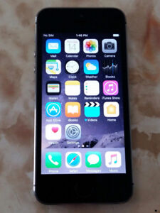 IPhone 5S 16Gb - Space Grey/Great Condition - TELUS