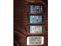 4 iphones for sale