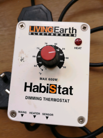 Living Earth Habistat Dimming Thermostat 600w