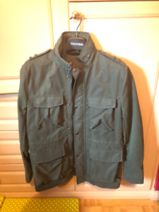 Green Military Jacket | H&M | Excellent Condition