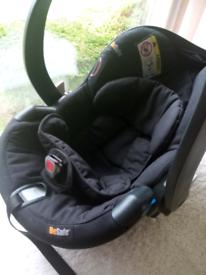 BeSafe Baby Car Seat and Be Safe Isofix Base