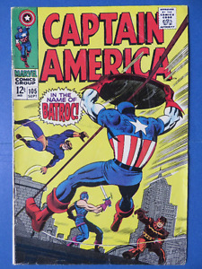 Captain America - Lot of 4 - 105, 106, 107, 108