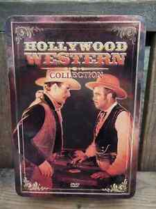Excellent Condition: Hollywood Western Collection - 5 DVD's, Tin