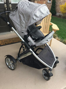 2011 Britax B-Ready Stroller and Bassinet