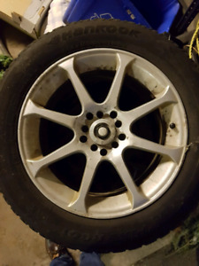"16"" alloy wheels and tires"