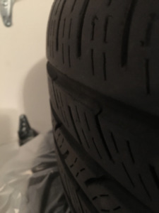 2 Continental ContiPro Contact Tires(no rims) 225 45 R 17's