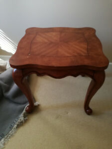MOVING SALE,  SIDE TABLE made from wood