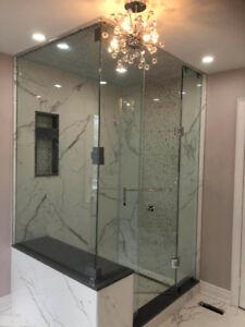 Standard/Custom Shower Door, Mirrors and Stairs
